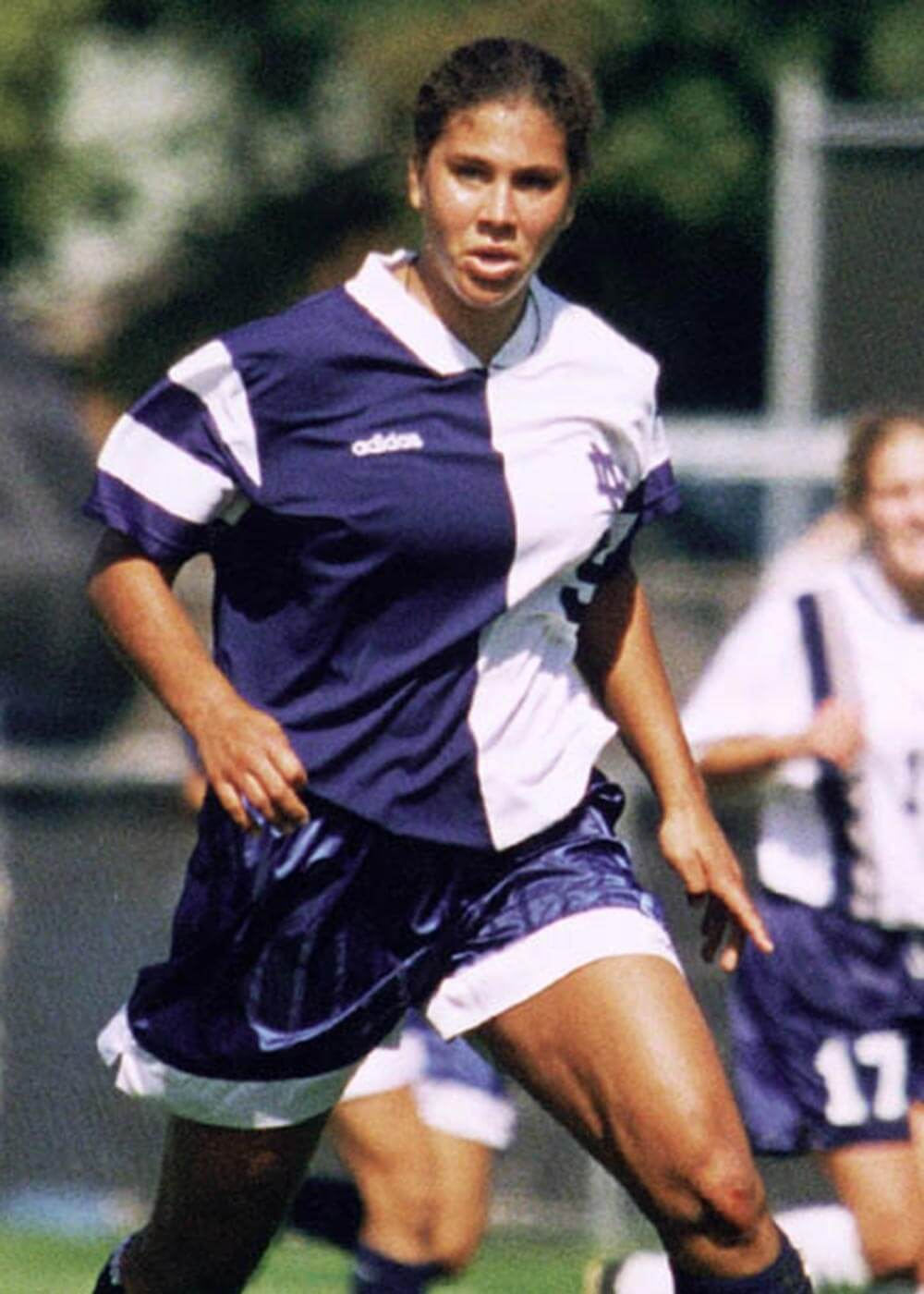 Women's Soccer wins first championship - 1995